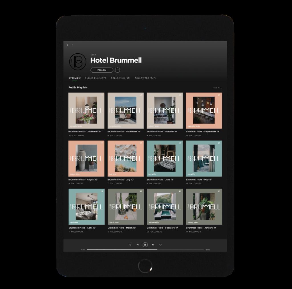 Hotel Brummell |Movement